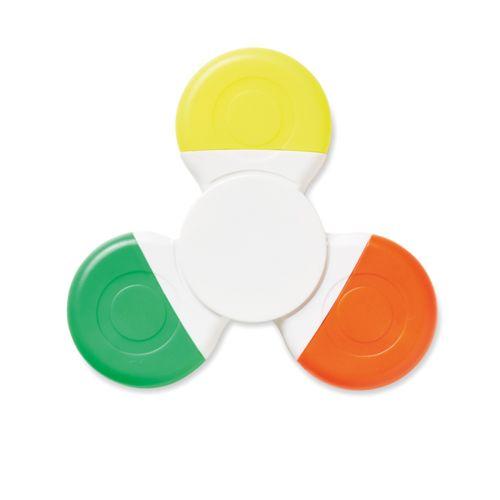 Spinner avec 3 de couleurs