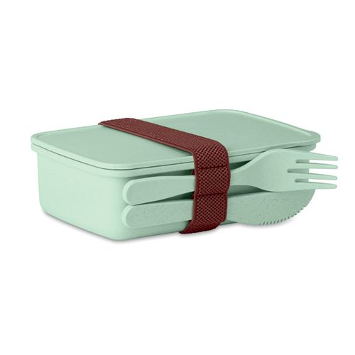 Lunch box en fibre de bambou