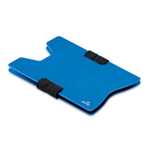 Porte carte RFID en aluminium - ISOCOM - OBJETS ET TEXTILES PERSONNALISES - NANTES