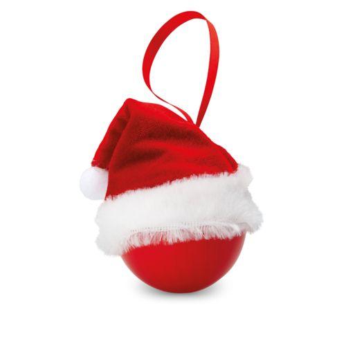 Boule de Noël avec bonnet de P