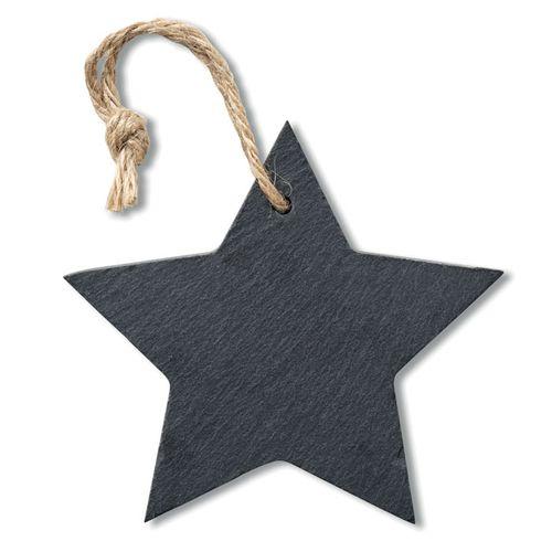Suspension étoile en ardoise