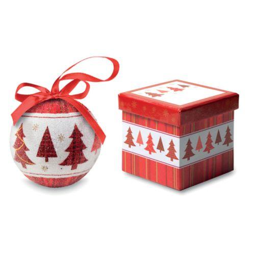SNOWY Boule de Noël et boîte.