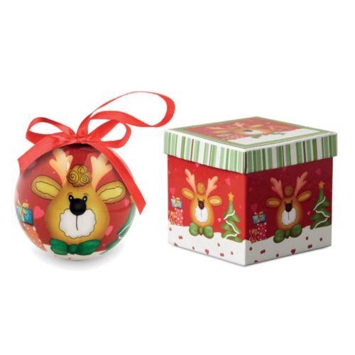 RENDY Boule de Noël et boîte.