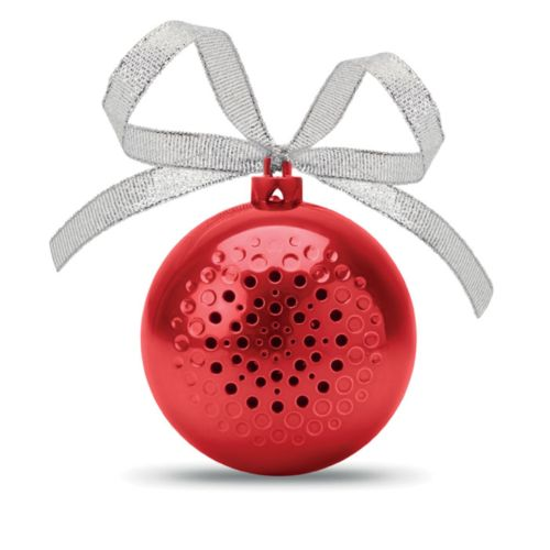 JINGLE BALL Haut parleur boule de Noël