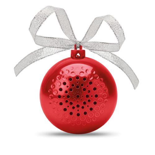 Haut parleur boule de Noël