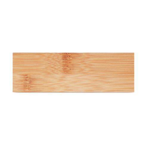 4 dessous de verre en bambou