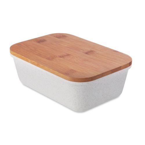 FANCY LUNCH Lunchbox couvercle en bambou