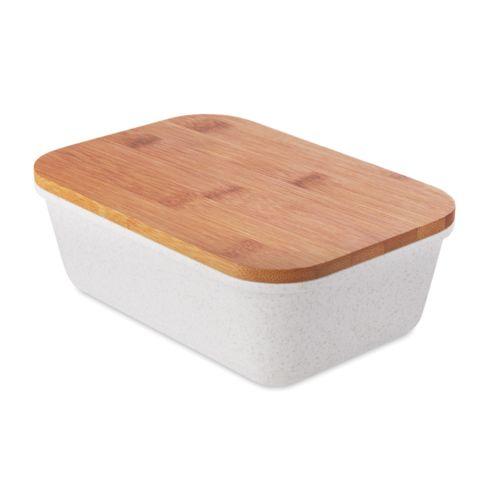 Lunchbox couvercle en bambou