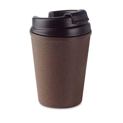 Mug double paroi en café / PP