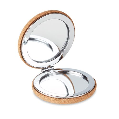 Petit miroir en liège
