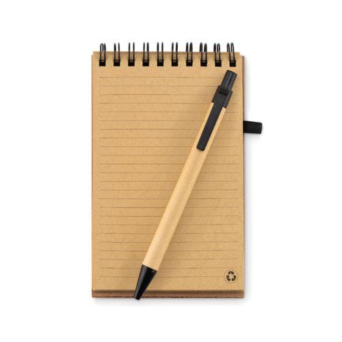Carnet A6 en liège avec stylo PERSONNALISABLE