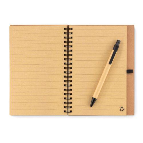 SONORA PLUSCORK Carnet en liège avec stylo