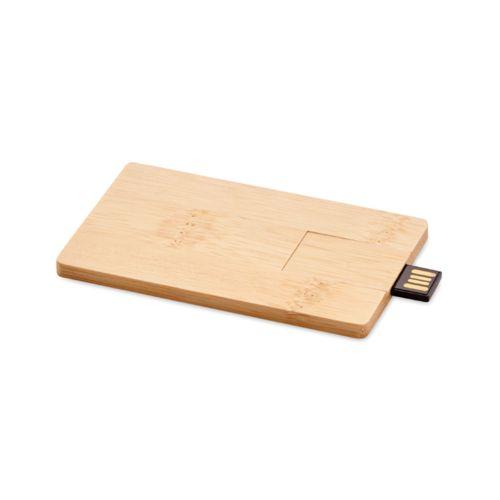 USB 16GB carcaça bambú