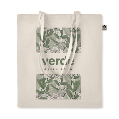 Sac shopping en coton organique publicitaire personnalisé annecy génève chambéry lyon