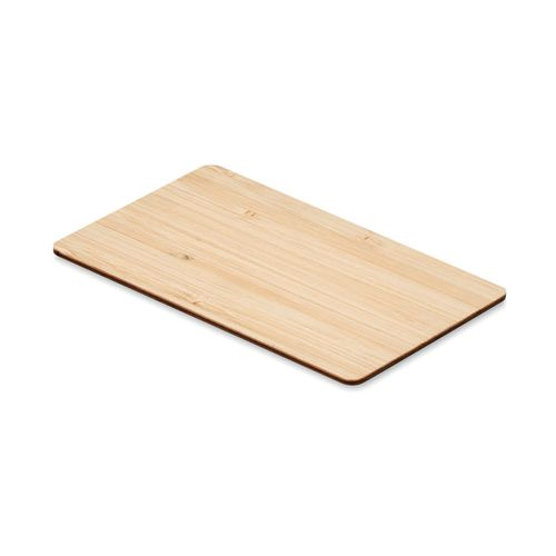 Carte RFID bambou