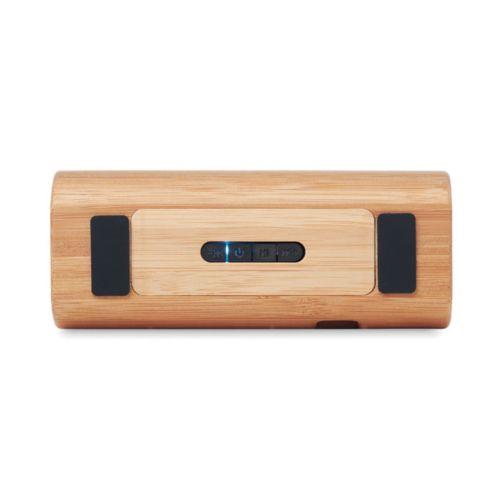 SPEAKBOX Haut-parleur en bambou
