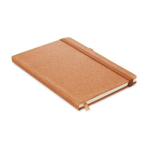 Caderno A5 pautado PU rec. brindes LISBOA