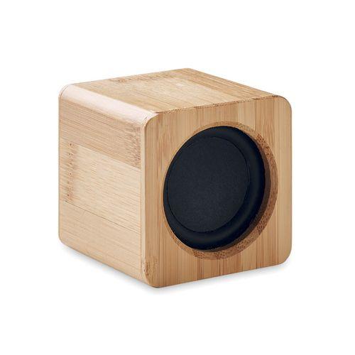 Haut-parleur en bambou