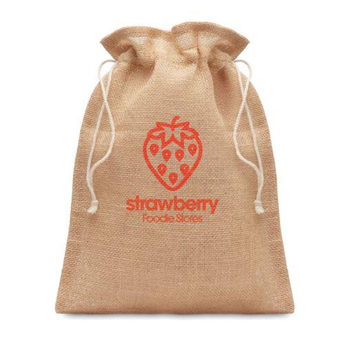 JUTE SMALL Petit sac cadeau en jute