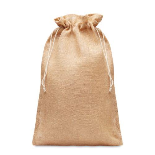 Grand sac cadeau en jute