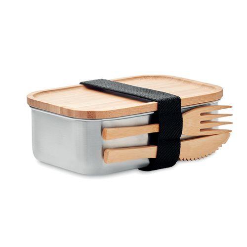 Lunch box en acier inox. 600ml