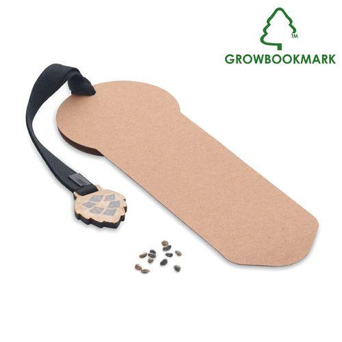 Marcador de páginas pinheiro