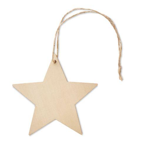Décoration forme étoile