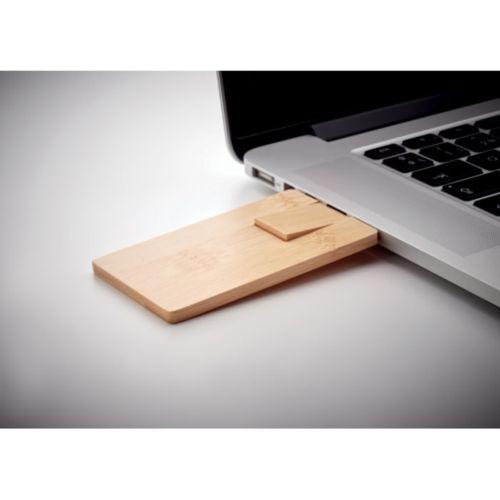 USB 16GB boitier bambou