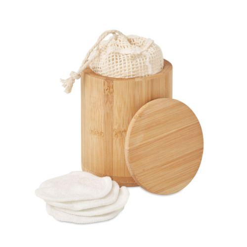 Set de pads en fibre de bambou