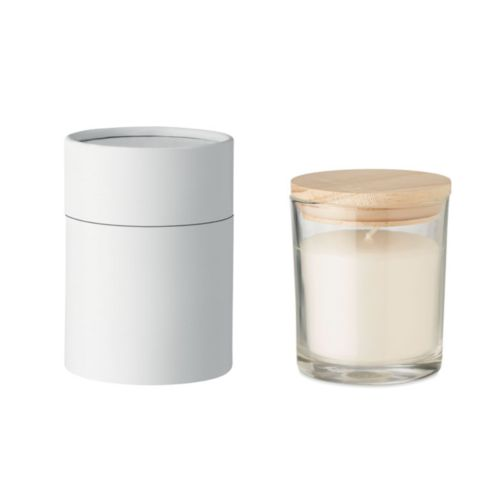 Vanilla fragranced candle