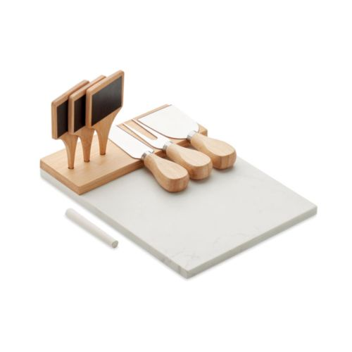 Marble cheese serving platter