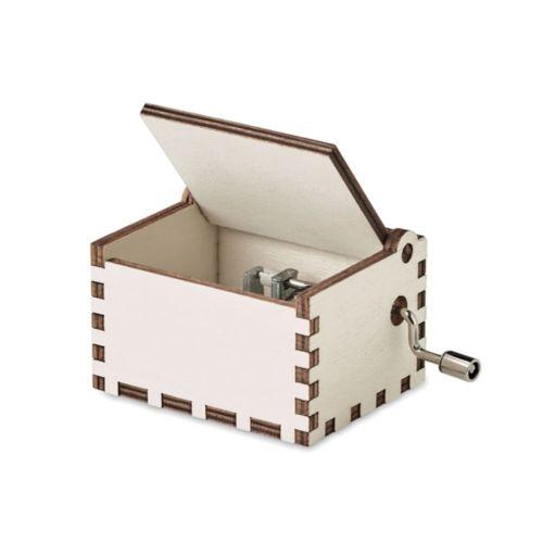 BOXMAS Boîte à musique en bois
