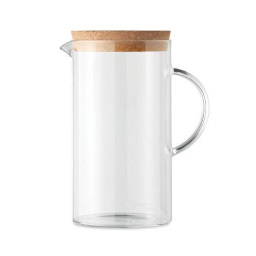 Borosilicate glass decanter 1L
