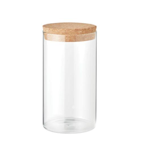 Borosilicate glass jar 600 ml