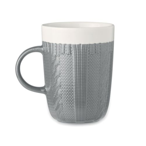 KNITTY Mug en céramique 310 ml