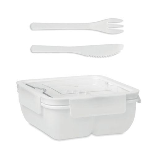 Lunch box avec couverts 600ml
