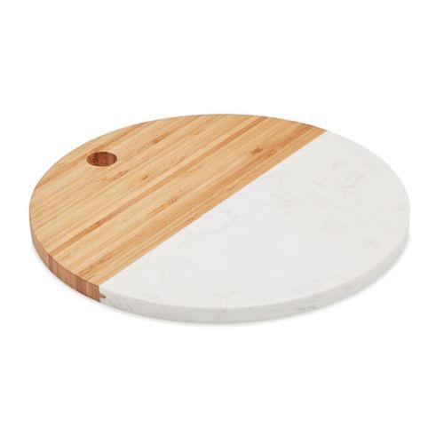 Planche marbre et bambou