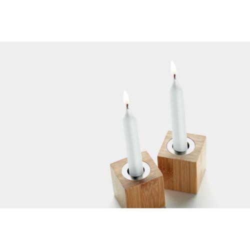 PYRAMIDE Set de 2 velas  Regalos Promocionales personalizados para Empresas