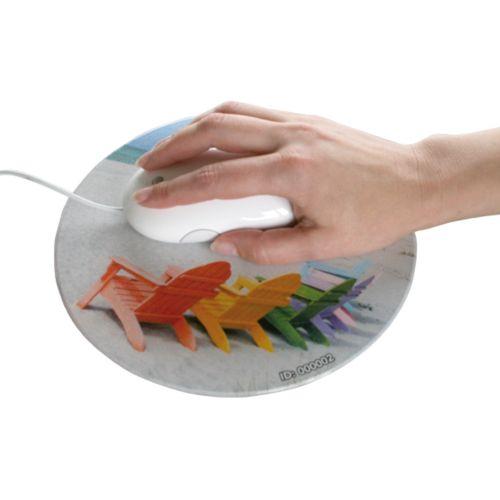Tapis QUADRO-pad, format Circle 1,   200 mm diamètre, 1,5 mm épaisseur