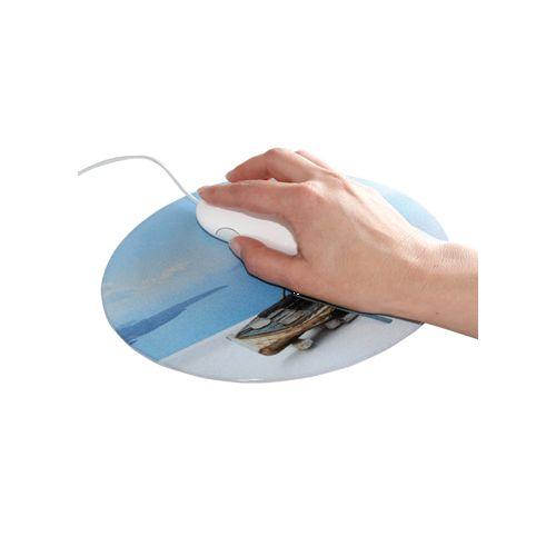 Tapis QUADRO-pad, format Oval,  200 x 240 mm, 1,5 mm épaisseur