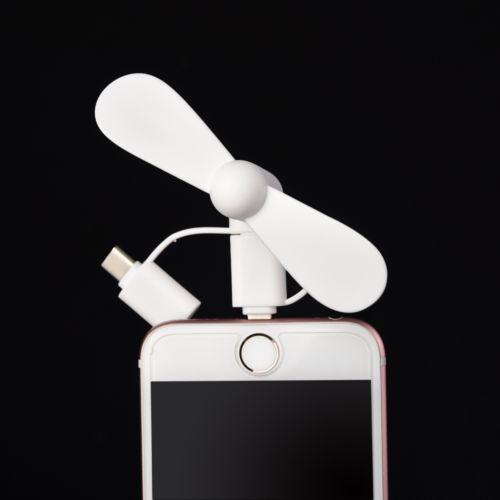 3 en 1 PROMO-Ventilator avec Lightning (Apple), Micro USB et Type-C