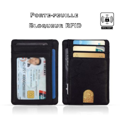 Porte cartes RFID WALLET