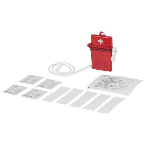 Trousse de premiers secours 10 pièces Haste publicitaire personnalisable