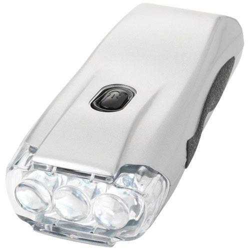 Lampe torche dynamo 3 LED Capella