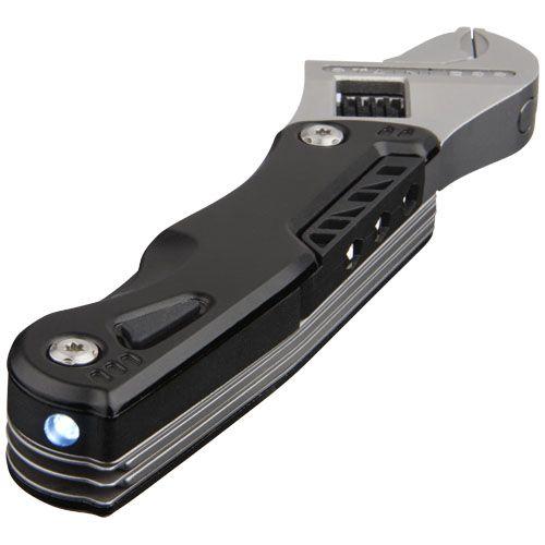 Clé à molette ajustable et multi-fonction avec LED Duty