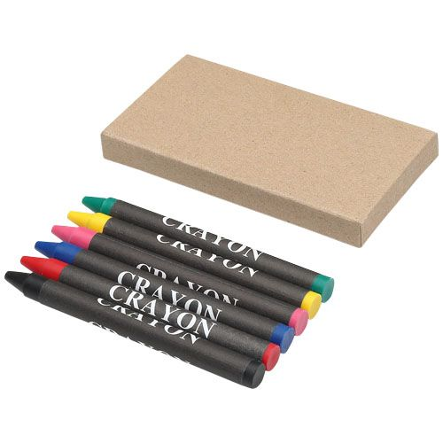 Crayons de couleur 6 pièces Ayo