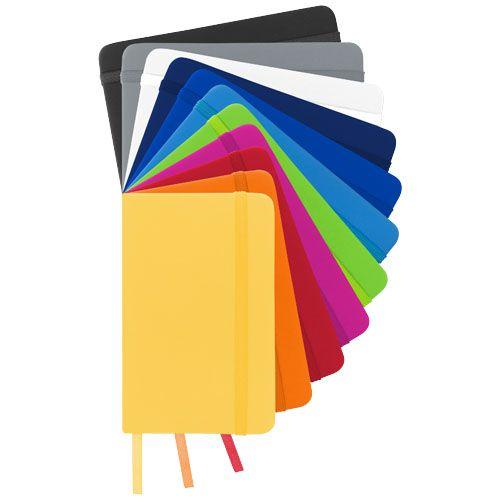 Carnet de notes A6 Spectrum à couverture rigide publicitaire personnalisable