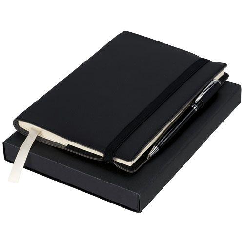 Carnet avec coffret cadeau stylo Aria