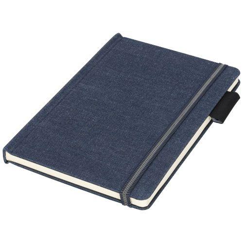 Carnet de notes A5 en tissu Jeans