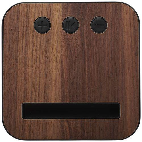 Enceinte Bluetooth® en tissu et bois Shae LUXVISUAL Luxembourg